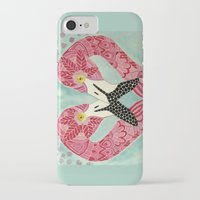 flamingos iPhone & iPod Cases featuring Flamingos  by ArtLovePassion