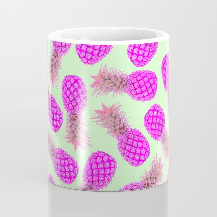 Pink pineapple pattern Coffee Mug