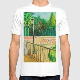 Parque del Retiro. gouache. Madrid. T-shirt