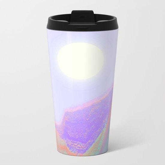 Keep on Running Metal Travel Mug
