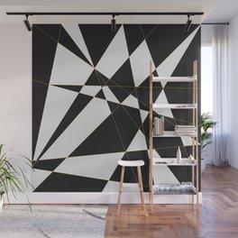 Polygon Abstract Wall Mural