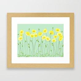 Yellow Wildflowers II Framed Art Print