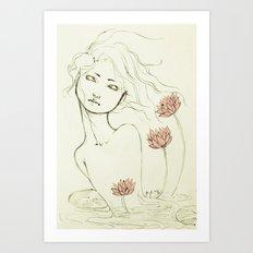 Rise. Art Print