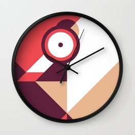 Squat Wall Clock