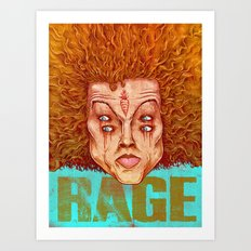 Carrot Top - ArtBattleLA Art Print
