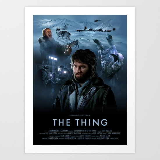 The Thing Art Print