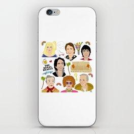 Three's Company Universe iPhone Skin