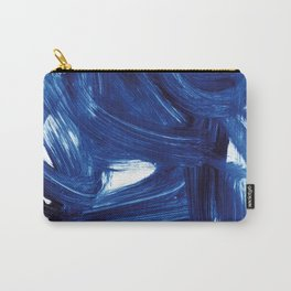 Navy Brush Carry-All Pouch