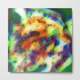 Colours of the Jungle Metal Print