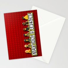 Everything Is Awesome Stationery Cards