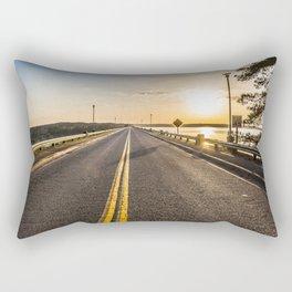 Sunset Road 2 Rectangular Pillow
