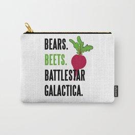 BEARS, BEETS, BATTLESTAR, GALACTICA Carry-All Pouch