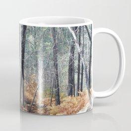 Fall Forest with Ferns Coffee Mug