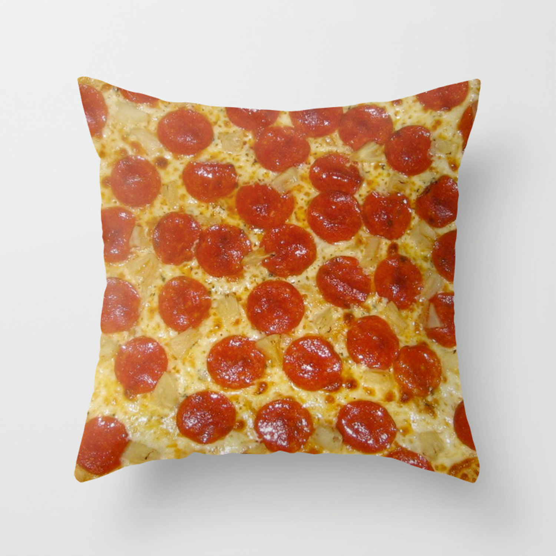 Pizza Throw Pillow By Celeblegs Society6