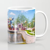 dumbo Mugs featuring Dumbo Ride by ThatDisneyLover