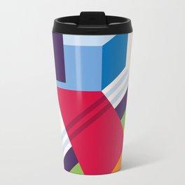 Abstract modern geometric background. Composition 13 Metal Travel Mug
