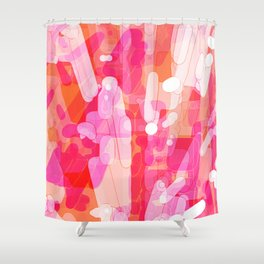 Social Fizz Shower Curtain