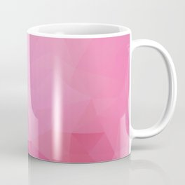 """Raspberry fresh"" triangles design Coffee Mug"