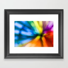 color explosion Framed Art Print