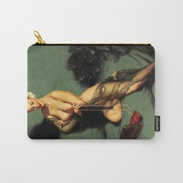 Fascination Gil Elvgren Pin Up Girl Carry-All Pouch