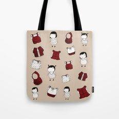 paper dolls Tote Bag