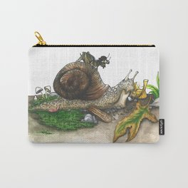 Little Worlds: Snail and Cricket Carry-All Pouch