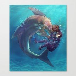 Underwater (heith) Canvas Print