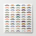 Mustache Mania by beegreen