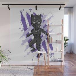 Black Panther (Splatter) Wall Mural