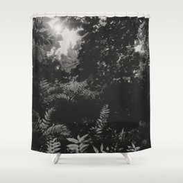 Under the leaves... Shower Curtain