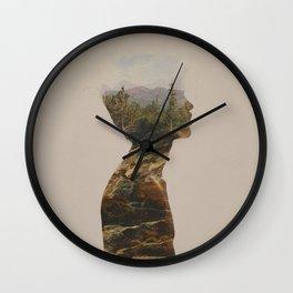 Side by Side Wall Clock