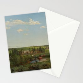 Louis Buvelot - 'Mount Fyans' homestead (1869) Stationery Cards