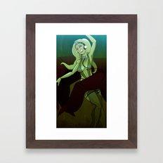 Oola's Fate Framed Art Print