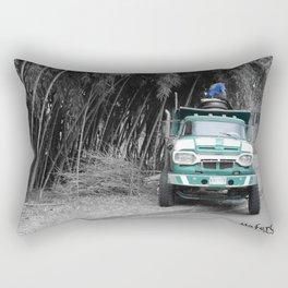 The Green Truck Rectangular Pillow