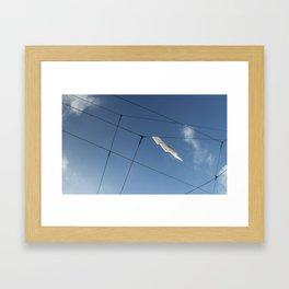 Wire Hangling Framed Art Print