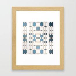Patternbronze #1 Framed Art Print