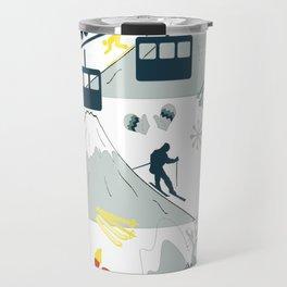 SKI LIFTS Travel Mug