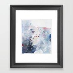 small piece 48 Framed Art Print