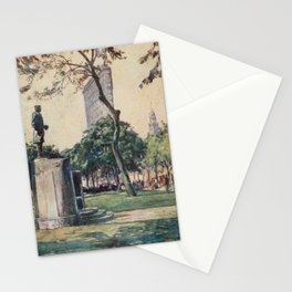 Lewis, Martin (1881-1962) - New York 1911 - Madison Square & Flatiron Building Stationery Cards