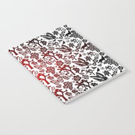 Joshua Tree Heart RED by CREYES Notebook