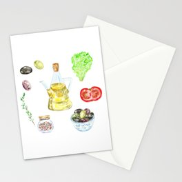 Italian fresh food Stationery Cards