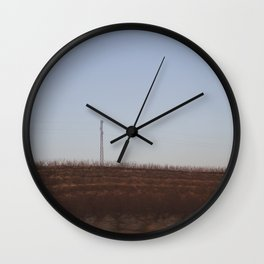 There and back XV Wall Clock