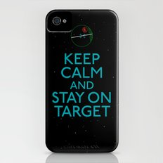Stay on target iPhone (4, 4s) Slim Case