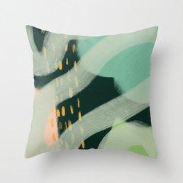 Lemon Tree Mixed Media (Pastel) Throw Pillow
