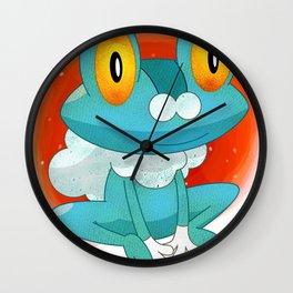 Froakie Pokémon Wall Clock