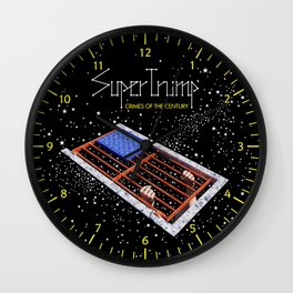 SuperTrump - Crimes of the century Wall Clock