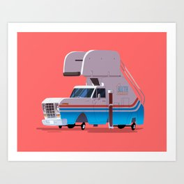 """""""Watch out for bridges and hop-ons. You're going to get some hop-ons."""" Art Print"""