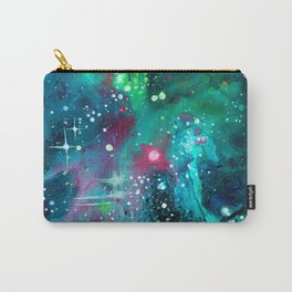 Emerald Nebula Carry-All Pouch
