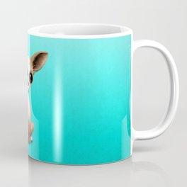 Chihuahua Puppy Dog Playing With Basketball Coffee Mug