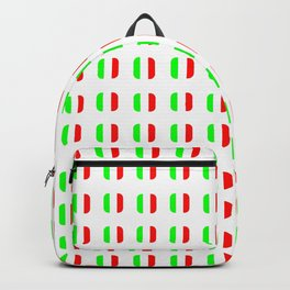 Flag of Italy - with soft square Backpack